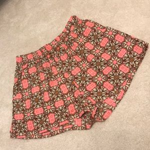 Tyche Flowy shorts size small super cute